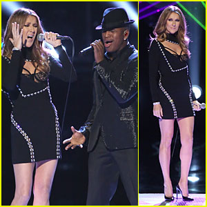Celine Dion & Ne-Yo: 'Incredible' Performance on 'The Voice' (Video)