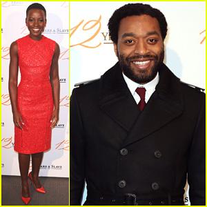 Chiwetel Ejiofor & Lupita Nyong'o: '12 Years a Slave' Paris Premiere!