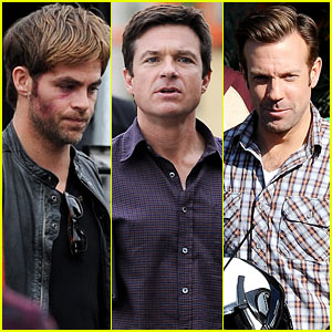 Chris Pine: Bruised & Bloodied for 'Horrible Bosses 2'!