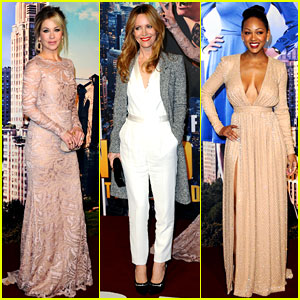 Christina Applegate & Leslie Mann: 'Anchorman 2' London Premiere!
