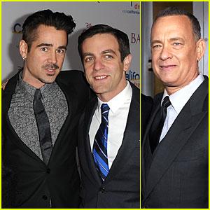 Colin Farrell & Tom Hanks: 'Saving Mr. Banks' L.A. Premiere!