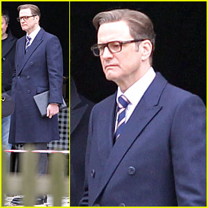 Colin Firth Suits Up for 'The Secret Service'!