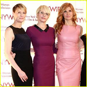 Connie Britton & Robin Wright: Women in Film & TV Awards!