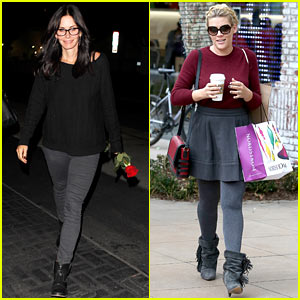 Courteney Cox & Busy Philipps: 'Cougar Town' Back Next Month!