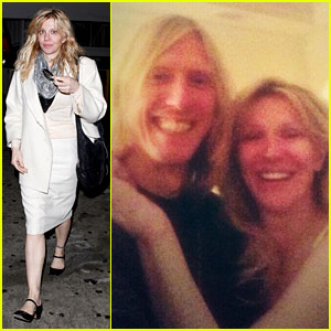 Courtney Love Reunites with Hole's Eric Erlandson!