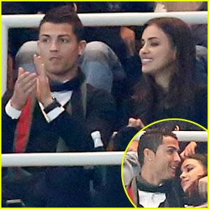 Cristiano Ronaldo & Irina Shayk: Real Madrid Spectators