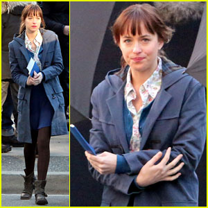 Dakota Johnson: 'Fifty Shades of Grey' Car Scenes