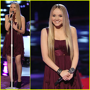 Danielle Bradbery: 'Never Like This' Performance on 'The Voice'!