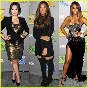 Demi Lovato & Leona Lewis: 'X Factor' Season 3 Finale!