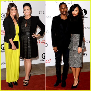 Demi Lovato & Naya Rivera: THR Breakfast Babes!