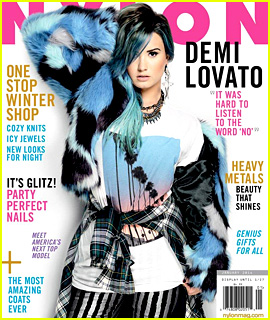 Demi Lovato Covers 'Nylon' December/January 2014