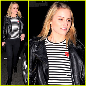 Dianna Agron: I'll Be at Amber Riley's Show with 'Bells On'