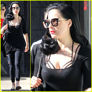 Dita Von Teese Talks Inspiration Behind Her Perfume 'Erotique'