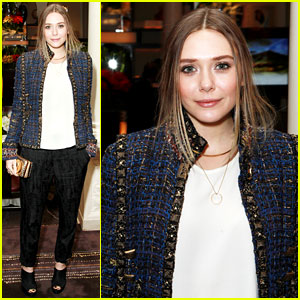 Elizabeth Olsen Dresses Up After the 'Godzilla' Trailer Debut!