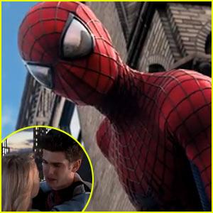 Andrew Garfield & Emma Stone: 'Amazing Spider-Man 2' Trailer - Watch Now!