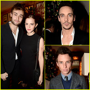 Emma Watson & Douglas Booth: Lady Gaga Concertgoers!