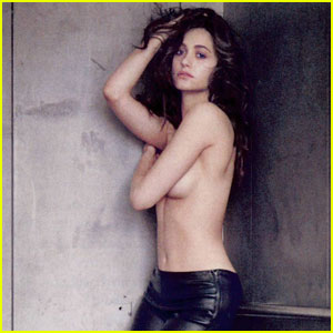 Emmy Rossum: Topless for 'Esquire' Magazine January 2014