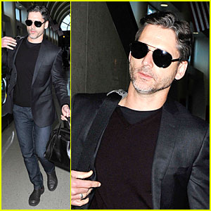 Eric Bana: LAX Departure After 'Lone Survivor' Promo!