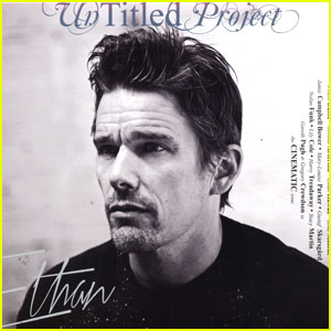 Ethan Hawke Covers 'Untitled Project' Magazine!