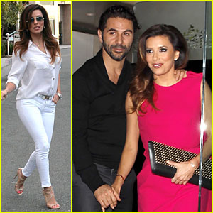Eva Longoria & Jose Baston Hold Hands for Mr. Chow Dinner!
