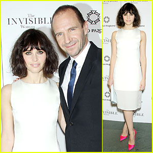 Felicity Jones & Ralph Fiennes: 'Invisible Woman' NYC Screening!