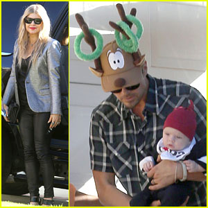 Fergie & Josh Duhamel Celebrate Christmas with Baby Axl!