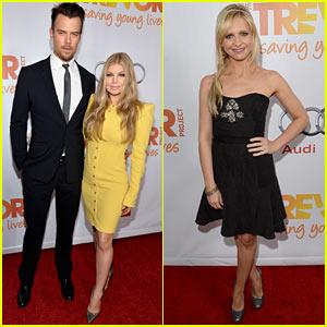 Fergie & Josh Duhamel - TrevorLIVE LA 2013