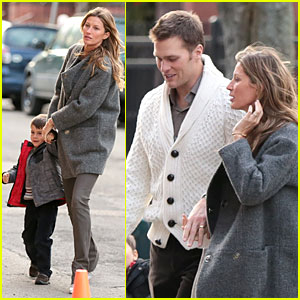 Gisele Bundchen & Tom Brady: Christmas Eve at Boston Symphony!
