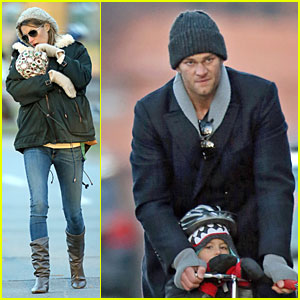 Gisele Bundchen & Tom Brady: Happy Early Birthday Benjamin!