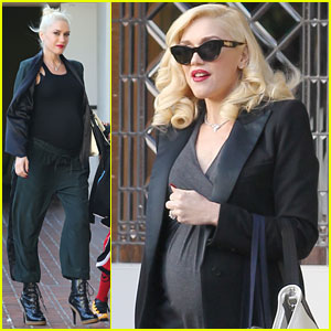 Gwen Stefani: Baby Bumpin' Lunch with the Family!