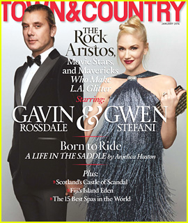 Gwen Stefani & Gavin Rossdale Cover 'Town & Country'!