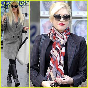 Gwen Stefani & Gavin Rossdale Run Errands Before Holiday Week