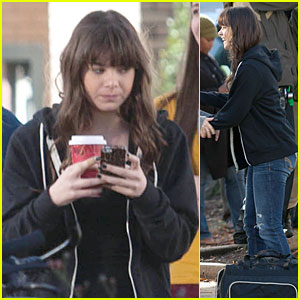 Hailee Steinfeld: Wrapping Up 'Barely Lethal' Filming!