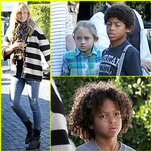 Heidi Klum: Post Thanksgiving Lunch with the Kids!