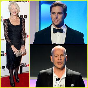 Helen Mirren & Armie Hammer: American Cinematheque Awards 2013