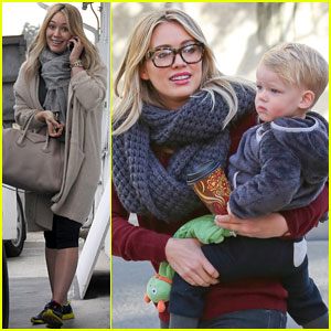 Hilary Duff: Busy Weekend with Her Boys!
