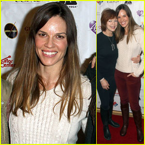 Hilary Swank: Spirit Awakening's Spoken Word Event 2013