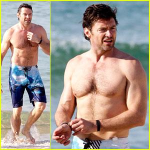 Hugh Jackman Goes Sexy Shirtless After 'Pan' Casting News!