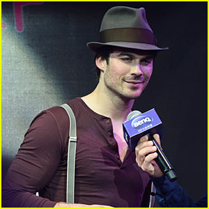 Ian Somerhalder: BenQ Digital Camera Promotion in China!