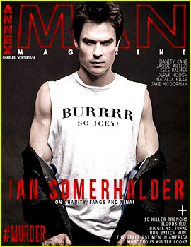 Ian Somerhalder Bares His Arms of Steel for 'Annex Man'