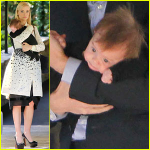 Jaime King: Brunch Date with Kyle Newman & Son James Knight!