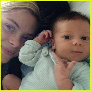 Jaime King: James Knight Newman's First Photo! (Exclusive)