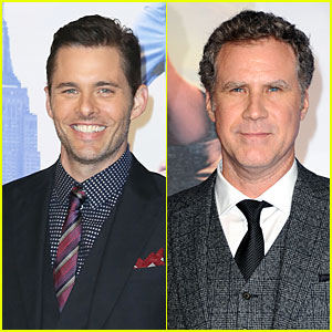 James Marsden & Will Ferrell: 'Anchorman 2' London Premiere!