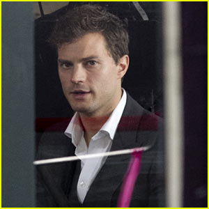 Jamie Dornan Films 'Fifty Shades of Grey': First On Set Pics!