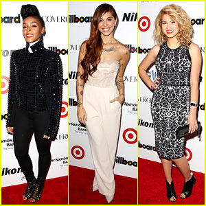 Janelle Monae & Christina Perri: Billboard's Women in Music!