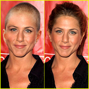 Jennifer Aniston Did NOT Shave Her Hair Off - Real Photos Here!