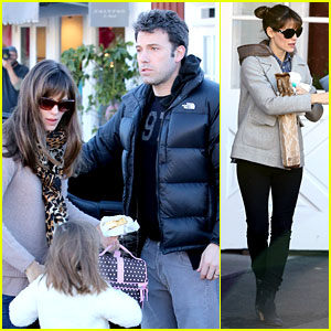 Jennifer Garner & Ben Affleck: Wednesday Morning Breakfast!