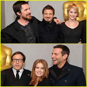 Jennifer Lawrence & Bradley Cooper: 'American Hustle' Academy Screening!