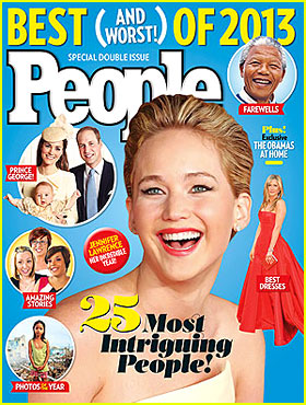 Jennifer Lawrence, Angelina Jolie, & More: People's Most Intriguing of 2013!