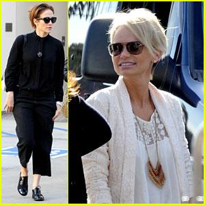 Jennifer Lopez: I 'Always Have Fun with Kristin Chenoweth!'